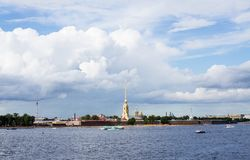 Saint-Petersburg , Peter and Paul fortress . Russia . Stock Images