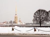 Saint Petersburg Peter Paul fortress Stock Photo