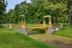 Saint Petersburg, Pushkin, Alexander park Stock Photography
