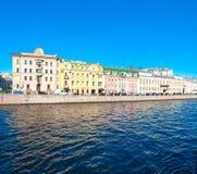 Saint Petersburg River Bank Royalty Free Stock Photos