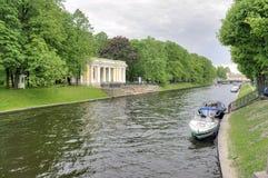 Saint Petersburg. River Moyka Royalty Free Stock Images