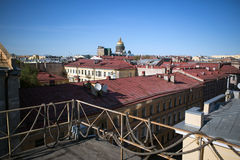 Saint Petersburg roofs Royalty Free Stock Photo