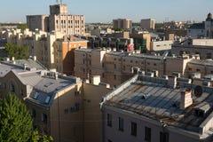 Saint Petersburg roofs Stock Photography