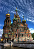 Saint-Petersburg, Russia. Church of Our Savior on Spilled Blood in Saint-Petersburg, Russia Stock Image