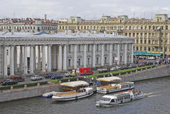 Saint-Petersburg. Russia Royalty Free Stock Photos