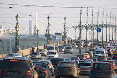 Saint-Petersburg. Russia Royalty Free Stock Photo