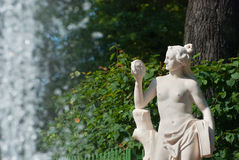 Saint-Petersburg. Russia. Allegory of Truth Stock Photos