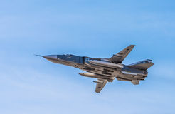 SAINT PETERSBURG, RUSSIA - April, 25, 2015: Sukhoi Su-24 russian Royalty Free Stock Photos
