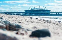 SAINT-PETERSBURG, RUSSIA, APRIL 12, 2019: Zenit Arena , St. Petersburg , Krestovsky - football stadium royalty free stock images