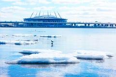 SAINT-PETERSBURG, RUSSIA, APRIL 12, 2019: Zenit Arena , St. Petersburg , Krestovsky - football stadium stock photography