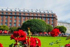 Saint Petersburg, Russia, Astoria hotel - main facade view Royalty Free Stock Photo