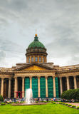 Kazan Cathedral (Kazanskiy Sobor) in Saint Petersburg, Russia Royalty Free Stock Photo