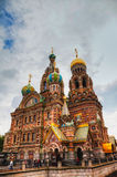 Savior on Blood Cathedral in St. Petersburg, Russia Stock Image