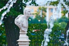 Saint-Petersburg. Russia. Bust of Seneca Stock Images