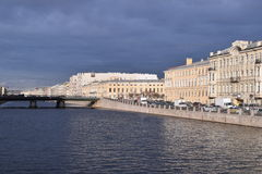 Saint Petersburg, Russia Canal View. Canal view in Saint Petersburg, Russia stock photography