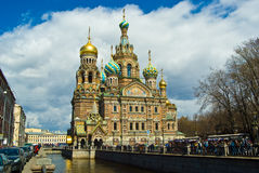 Saint-Petersburg, St-Petersburg, Russia. Church of Our Savior on Spilled Blood, St-Petersburg, St-Petersburg, Russia Royalty Free Stock Image