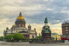 Saint Petersburg Russia Royalty Free Stock Photo
