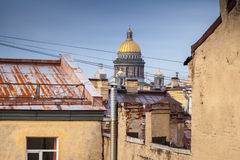 Saint-Petersburg, Russia. Cityscape of old city Royalty Free Stock Photo