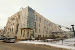 New building of the Mariinsky theatre stock photography