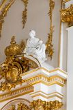 SAINT PETERSBURG, RUSSIA - FEBRUARY 23: State Hermitage Museum, interior,FEBRUARY 23 2017. Stock Photos