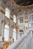 SAINT PETERSBURG, RUSSIA - FEBRUARY 23: State Hermitage Museum, interior,FEBRUARY 23 2017. Royalty Free Stock Photography