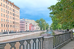 Saint-Petersburg. Russia. The Griboyedov Canal Stock Image