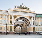 Arch of the General Staff, St.Petersburg Royalty Free Stock Image