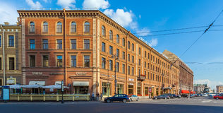 SAINT PETERSBURG, RUSSIA - JULY 26, 2014:  Famous hotel Angleter Stock Photos