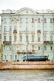 Sights of St. Petersburg. Beautiful historical architecture. Vertical photo royalty free stock photos
