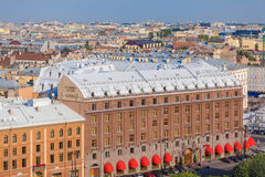 SAINT PETERSBURG, RUSSIA - JULY 26, 2014:  The view from the obs Stock Photo