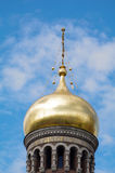 SAINT PETERSBURG, RUSSIA - MAI 10, 2014: part of church the Savior on Spilled Blood. Royalty Free Stock Photography
