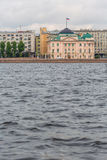 SAINT PETERSBURG, RUSSIA - MAY 27, 2015: embankment of the Neva river Royalty Free Stock Image