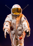Saint Petersburg, Russia - May 13, 2017: Russian astronaut spacesuit in Saint Petersburg space museum Royalty Free Stock Photos