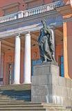 Saint-Petersburg. Russia. The Mikhailovsky Castle. SAINT-PETERSBURG, RUSSIA - AUGUST 4, 2015: Saint Michael's Castle (Mikhailovsky or Engineers' Castle) stock photos