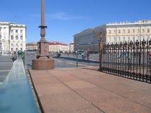 Saint Petersburg. Russia. Palace Square 29-06-2019. Alexandrian Pillar stock photos