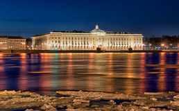Saint-Petersburg. Russia. The Russian Academy of Arts Royalty Free Stock Photos
