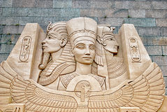 Saint-Petersburg. Russia. The Sand Sculpture Festival Royalty Free Stock Image