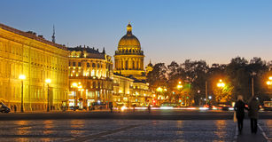 Saint-Petersburg. Russia. The St Isaac's Cathedral Royalty Free Stock Image
