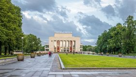 SAINT PETERSBURG, RUSSIA - 24.06.2017:  Theater of young spectat Royalty Free Stock Photos