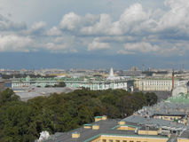 Saint Petersburg in Russia. View of the city of Saint Petersburg in Russia Stock Photos
