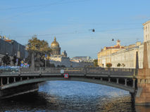 Saint Petersburg in Russia. View of the city of Saint Petersburg in Russia Stock Photography