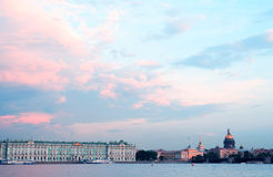 Saint Petersburg In Russia Royalty Free Stock Photos