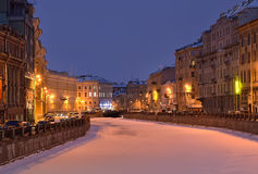 Saint Petersburg, Russia in winter Stock Images