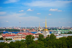 Saint-Petersburg S Historical Centre Royalty Free Stock Photos