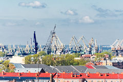 Saint Petersburg from Saint Isaac's Cathedral Stock Photo