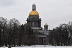 Saint Petersburg St. Isaac`s Cathedral Stock Images