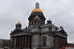 Saint Petersburg St. Isaac`s Cathedral stock image