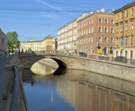 Saint Petersburg, Stone bridge Royalty Free Stock Photo