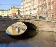 Saint Petersburg, Stone bridge Stock Photo