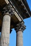 Saint-Petersburg, stone Corinthian columns Stock Photography